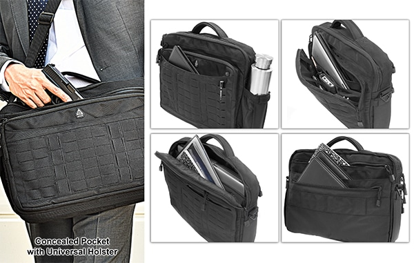 UTG 9-2-5 CCW Briefcase 1200D Polyester-3672