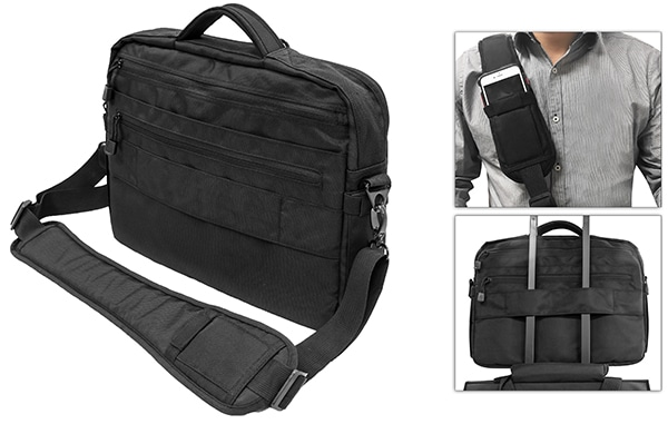 UTG 9-2-5 CCW Briefcase 1200D Polyester-3675