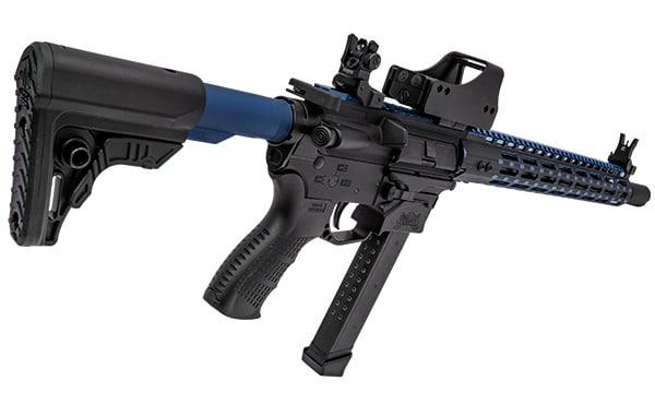 UTG PRO Mil-spec 6-position Extension Tube - Matte Blue-5158