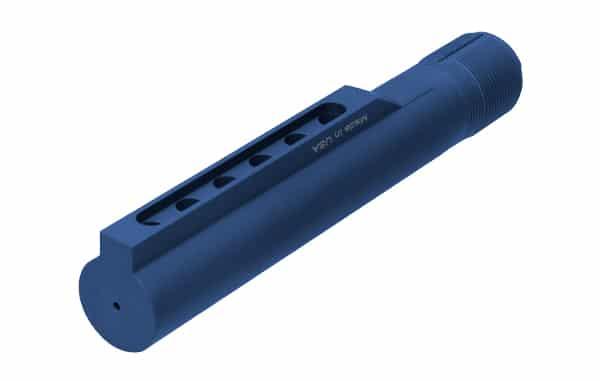 UTG PRO Mil-spec 6-position Extension Tube - Matte Blue-5157