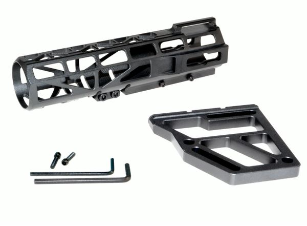 Aluminum Pistol Stabilizer Fin - Black-6502
