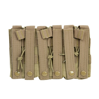 Triple AR Mag Pouch - Tan-9019