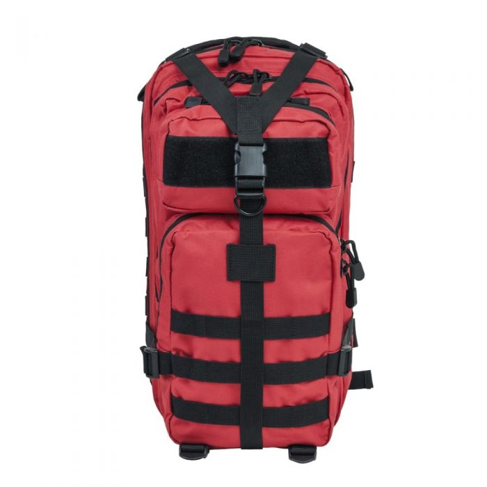 Small Tactical Backpack - Red-0