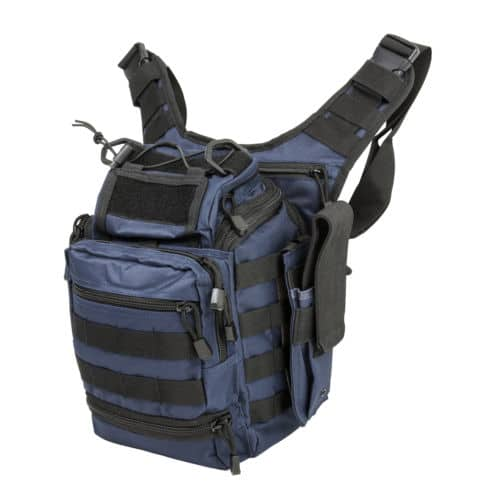 First Responders Utility Bag-Blue with Black-0