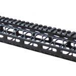 15 Inch KM Tactical Gen 2 Skeletonized Mlok Rail -0