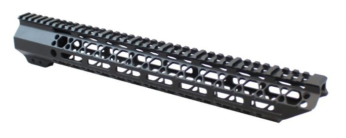 15 Inch KM Tactical Gen 2 Skeletonized Mlok Rail -0