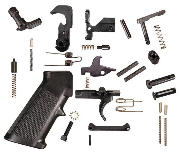 AR 15 Lower Parts Kit (LPK) KM Tactical