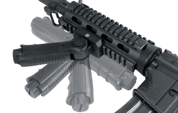 UTG Ambidextrous 5-position Foldable Foregrip-0