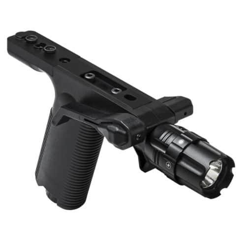 Vism Vertical Grip w/ Strobe Flashlight - KeyMod-0