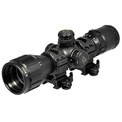 UTG 3-9x32 1 Inch Bugbuster Scope RGB, Mil-Dot-0
