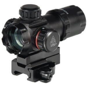 UTG 3.9 Inch ITA Red/Green CQB Dot Sight with Integral QD Mount-0