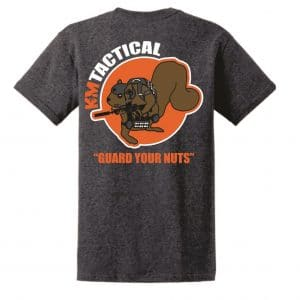 KM Tactical Guard Your Nuts Shirt AR 15 Squirrel