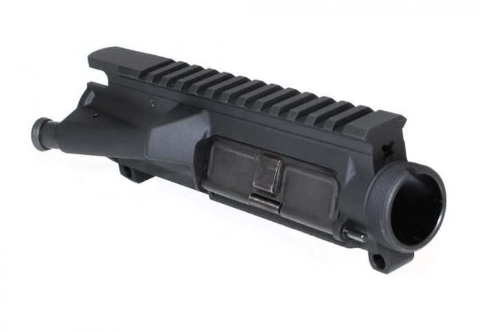Assembled AR 15 Upper Receiver KM Tactical UPPER-STAN-ASSEMB AR 15