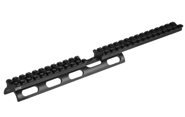 UTG Scout Slim Rail for Ruger 10/22 Rifles with 26 Slots-0