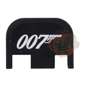 007 James Bond Engraved Glock Backplate-0