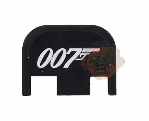 007 James Bond Engraved Glock Backplate-0