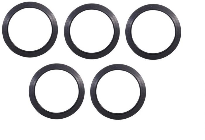5 Pack 3/4 Inch Crush Washer (Will Work with 49/64) KM Tactical