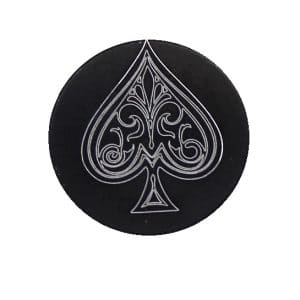 Ace Of Spades Oversized Magazine Button-0