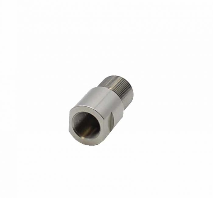 16MM - .578x28 Thread Adapter - Stainless-0