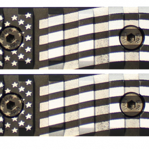 American Flag Engraved Keymod Mini Rail (2 Pack)-0