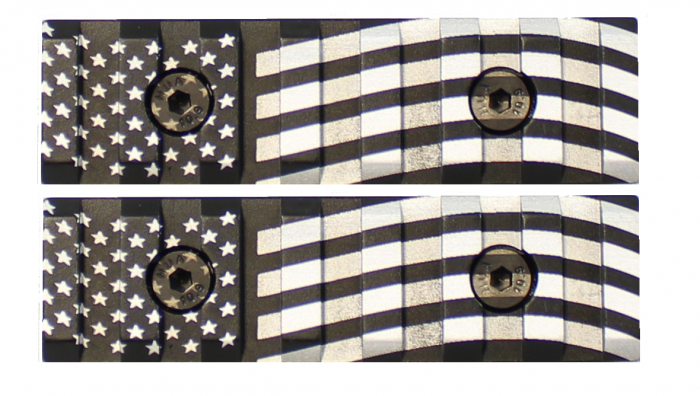 American Flag Engraved Keymod Mini Rail (2 Pack)-0