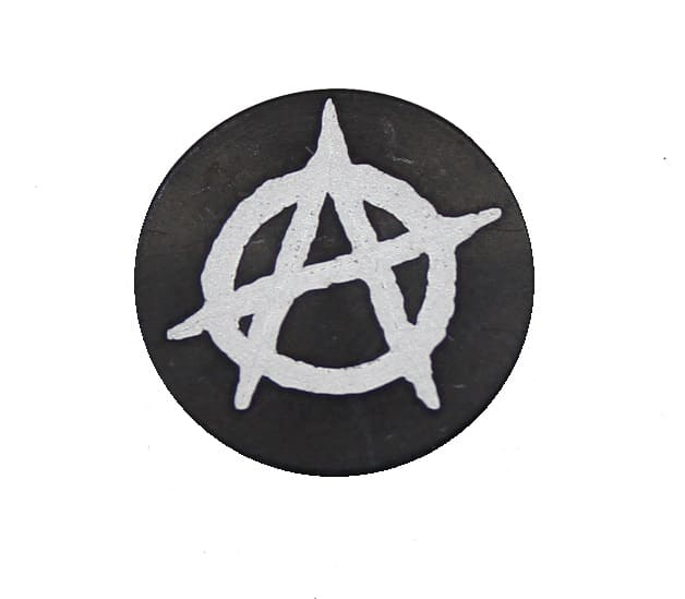 Anarchy Oversized Magazine Button-0