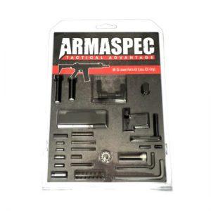 Armaspec AR-15 Lower Parts Kit (Less FCG+Grip) - Black-0