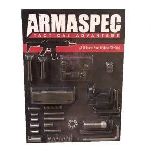 Armaspec AR-15 Lower Parts Kit (Less FCG+Grip) - ODG-0