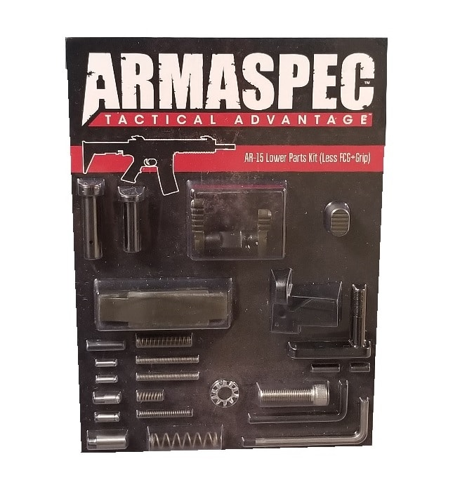 Armaspec AR-15 Lower Parts Kit (Less FCG+Grip) - ODG-0