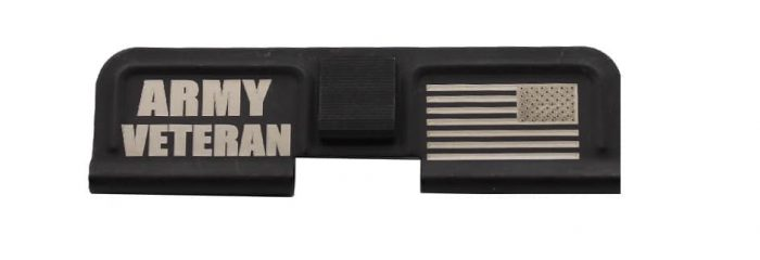 Army Veteran Engraved Dust Cover - 308-0