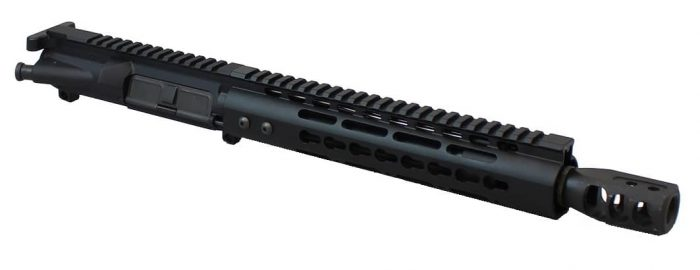 10.5 Inch Teflon Coated 12.7x42 Complete Upper-0