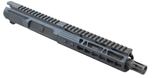Black Friday Unassembled 7.5 Inch Upper KM Tactical AR 15