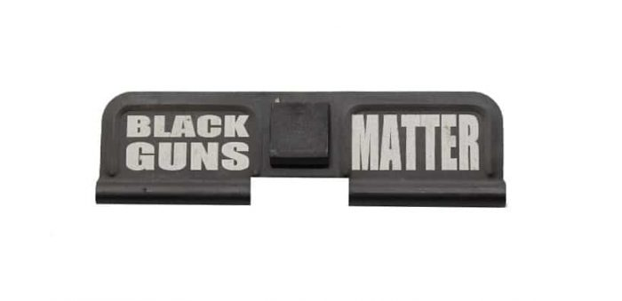 Black Guns Matter Engraved Dust Cover - 308-0