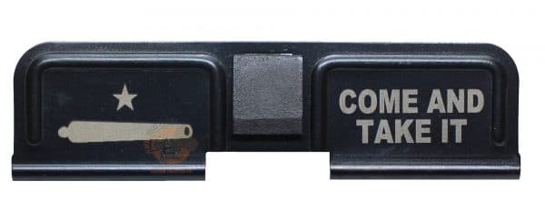 Come and Take It Engraved AR 15 Dust Cover-0