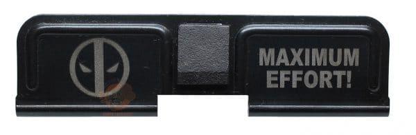 Deadpool Engraved AR 15 Dust Cover-0