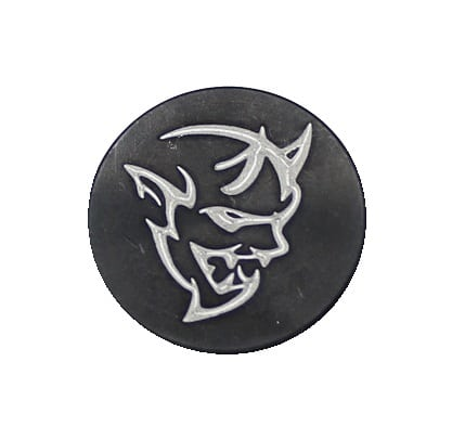 Demon Oversized Magazine Button-0