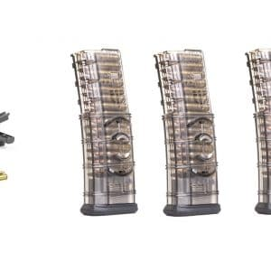 ETS AR 15 Speed Loader Combo with Four Coupled AR 15 Magazines-0