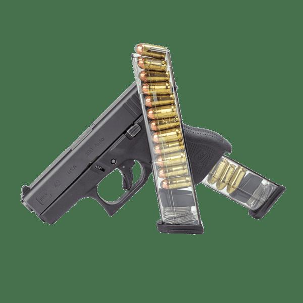 ETS 12 round mag - .380 Caliber, fits Glock 42-11851