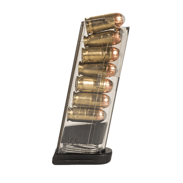 ETS 7 round mag - .380 Caliber, fits Glock 42-0
