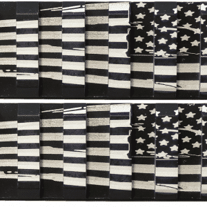 2 Pack American Flag Keymod Mini Rails-0