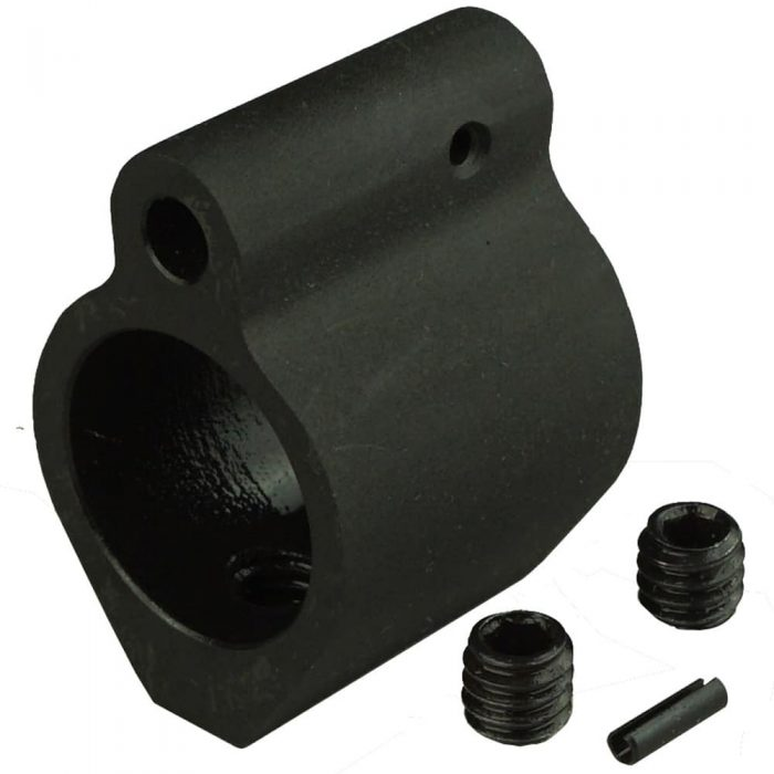 .750 Steel Gas Block KM Tactical AR 15 AR308 GB-750