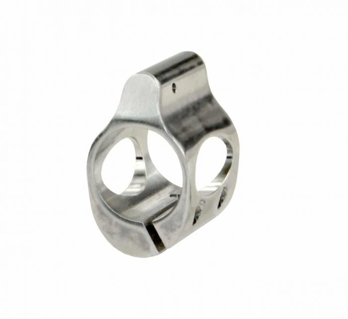 .750 Stainless Steel Gas Block (Clamp On)-0