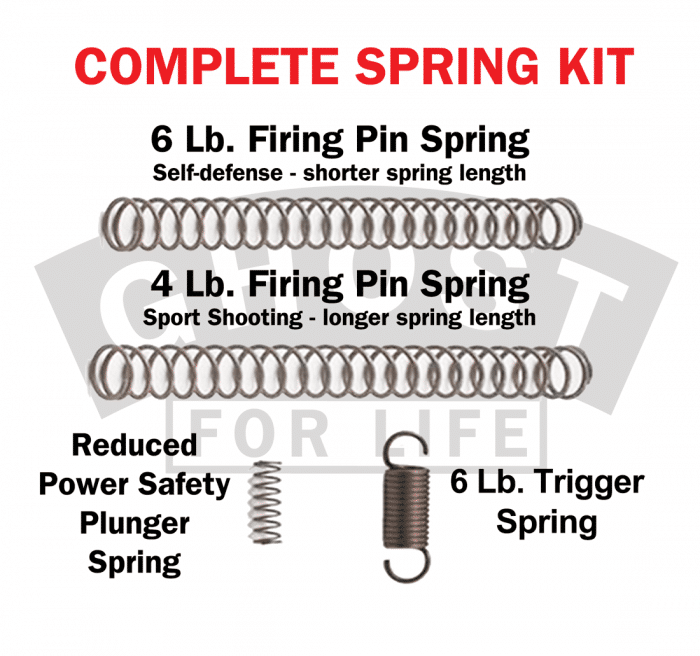 Ghost Inc Complete Spring Kit for Glock-0
