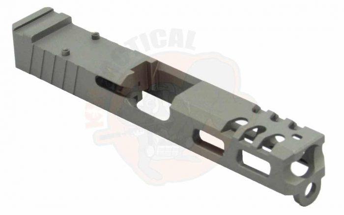 GLOCK 19 Raptor Series Slide - Tungsten-0