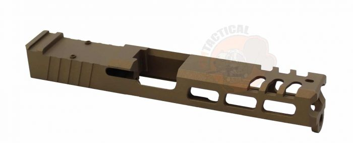 Glock 17 Raptor Series Slide Burnt Bronze-0