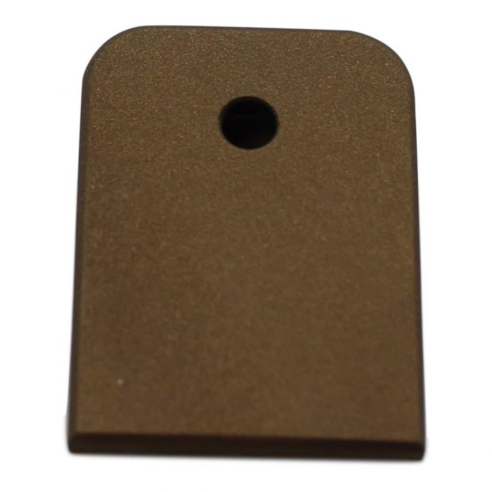 Burnt Bronze Glock Magazine Base Plate-0