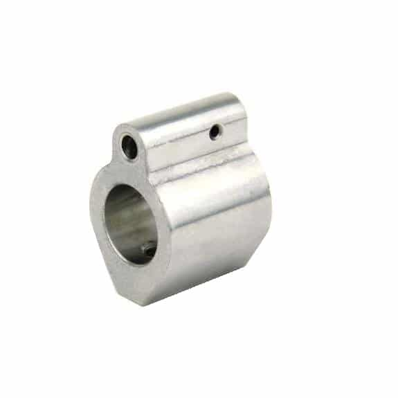 .625 Stainless Steel Gas Block-0