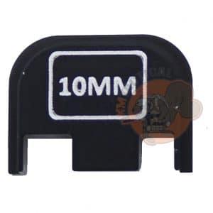 10MM Engraved Glock Back Plate-0