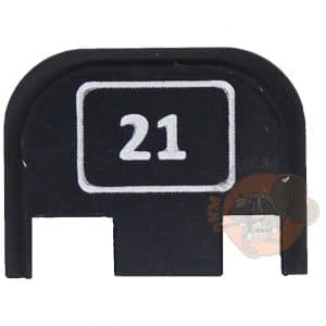 Glock 21 Engraved Back Plate-0