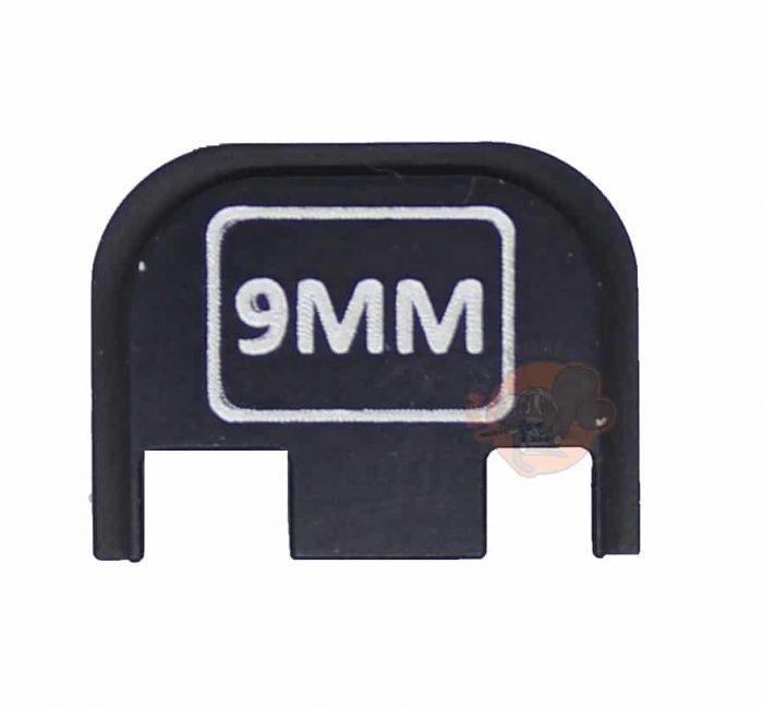 9MM Engraved Glock Back Plate (Full Size/G42/G43)-0
